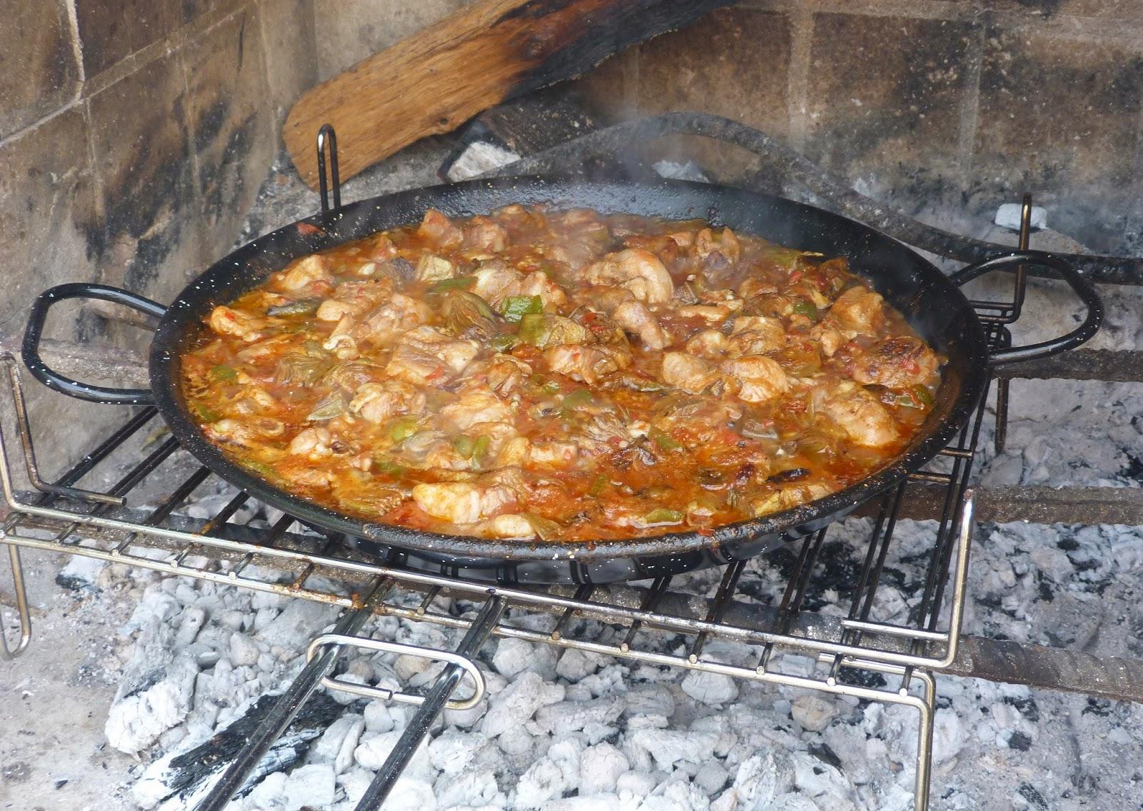 tarragonain-paella