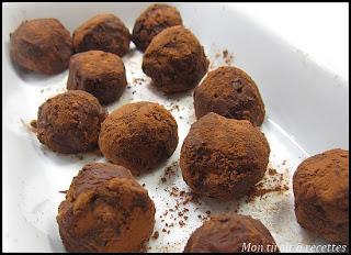 truffes en chocolat sans oeufs