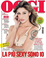 Belen Rodriguez: la più sexy 2013 per i lettori di oggi - copertina