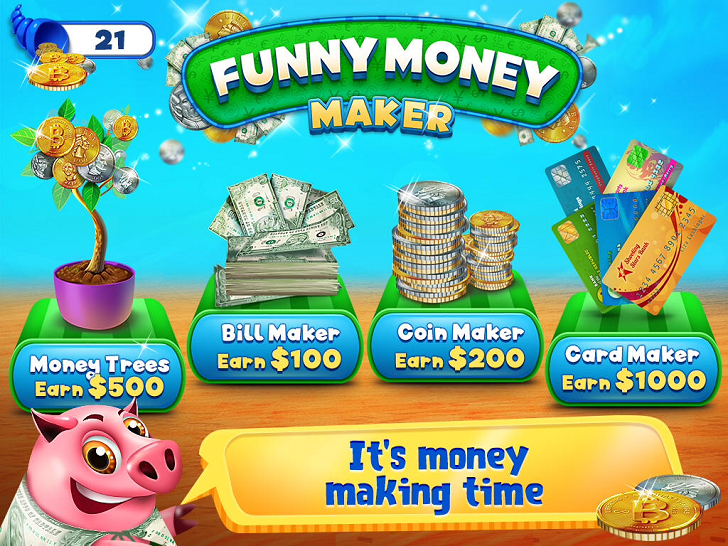 Funny Money Maker - Allowance Builder App iTunes App By Kids Fun Club by TabTale - FreeApps.ws