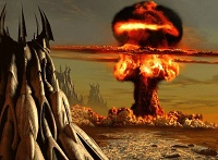 Antigua explosión atómica
