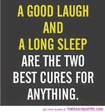 Laugh, therapy, cure, sleep