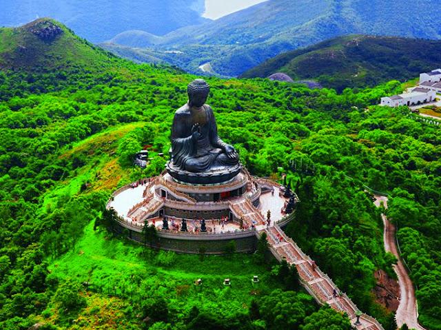 Tian Buddha Hong Kong Benteng Chittorgarh India