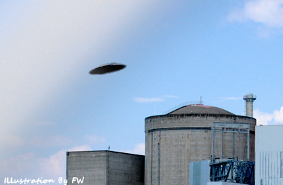 UFO Over Blayais Nuclear Power Plant
