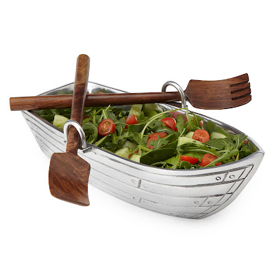 Best Gadgets For Salad Preparation - Row Boat Salad Bowl