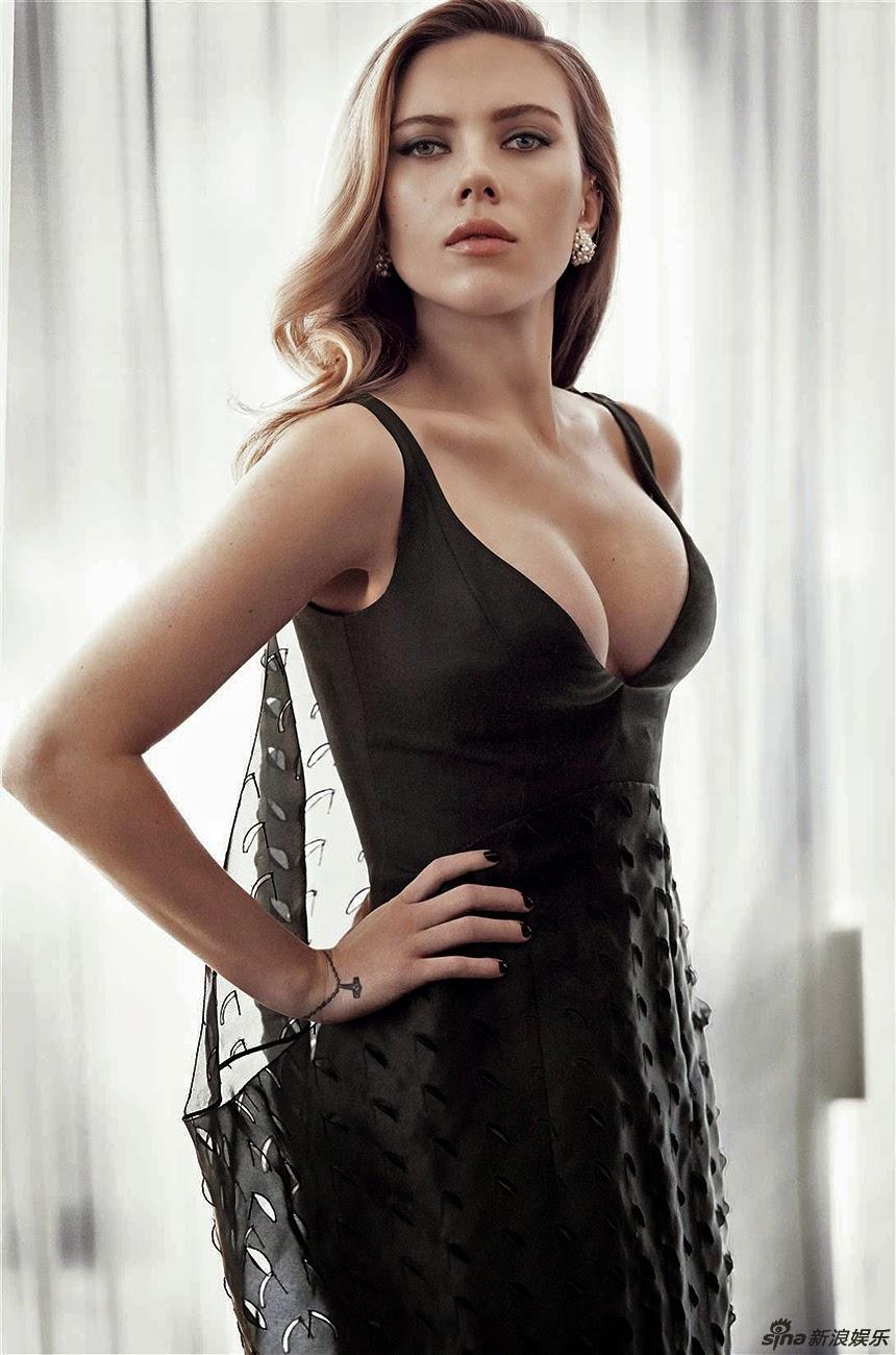 性感女神斯嘉丽�... Scarlett Johansson