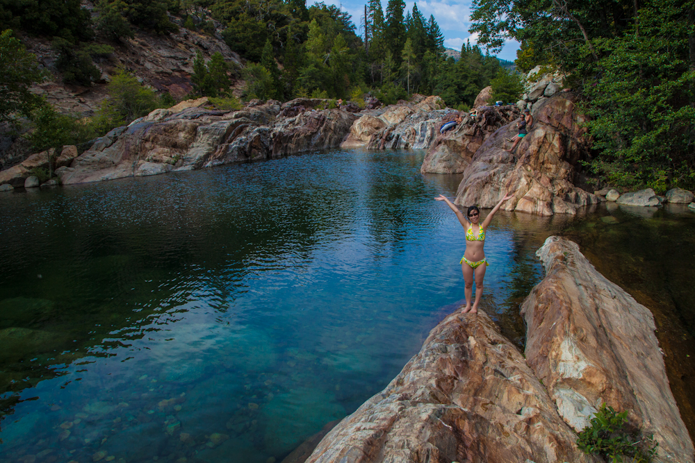 Swimming Holes Of California August 2012