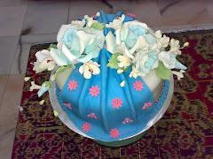 fondant cake. rm220