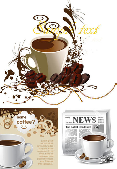 Coffee design Vector Graphic