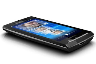 Sony Ericsson XPERIA X10 latest multi-touch phone