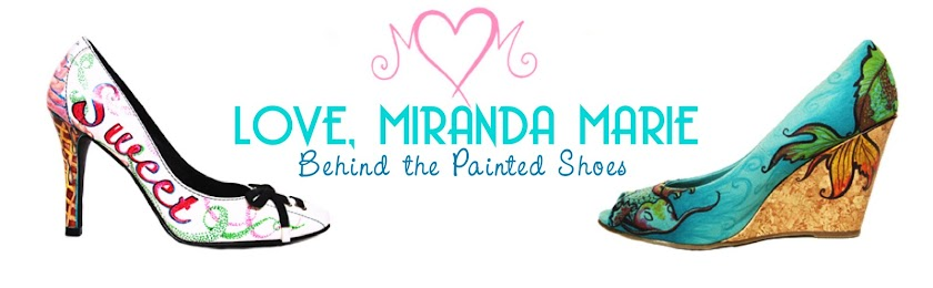 Behind The Painted Shoes by Love, Miranda Marie