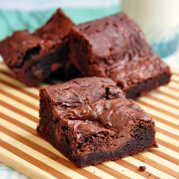 Nutella Swirl Brownies