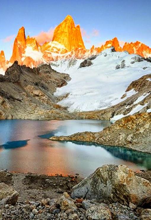laguna Torre, Patagonia, Argentina