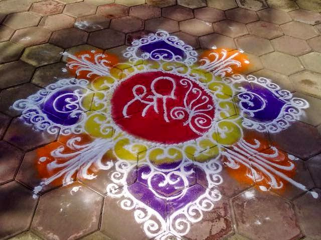 Easy Rangoli Designs 6