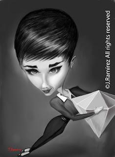 Audrey Hepburn ipad