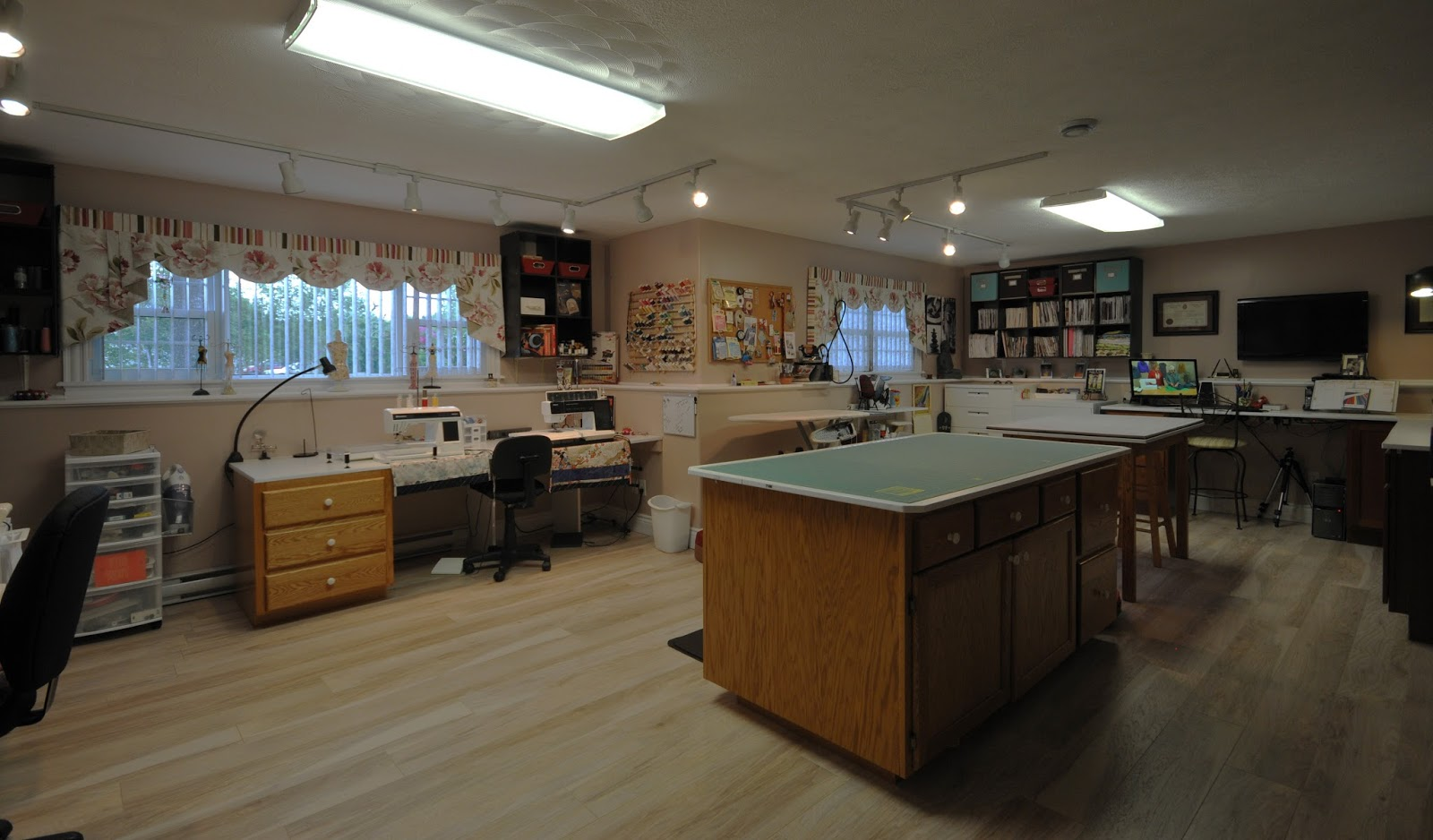 Ann made my sewing studio part