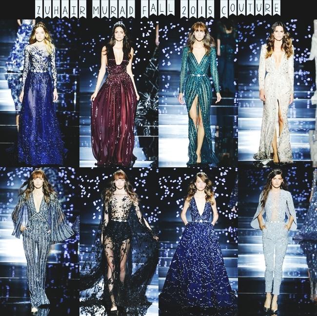 Instagram @lelazivanovic (Jelena Zivanovic).ZUHAIR MURAD Fall 2015 Couture.Best 2015 couture collections.2015 visoka moda.