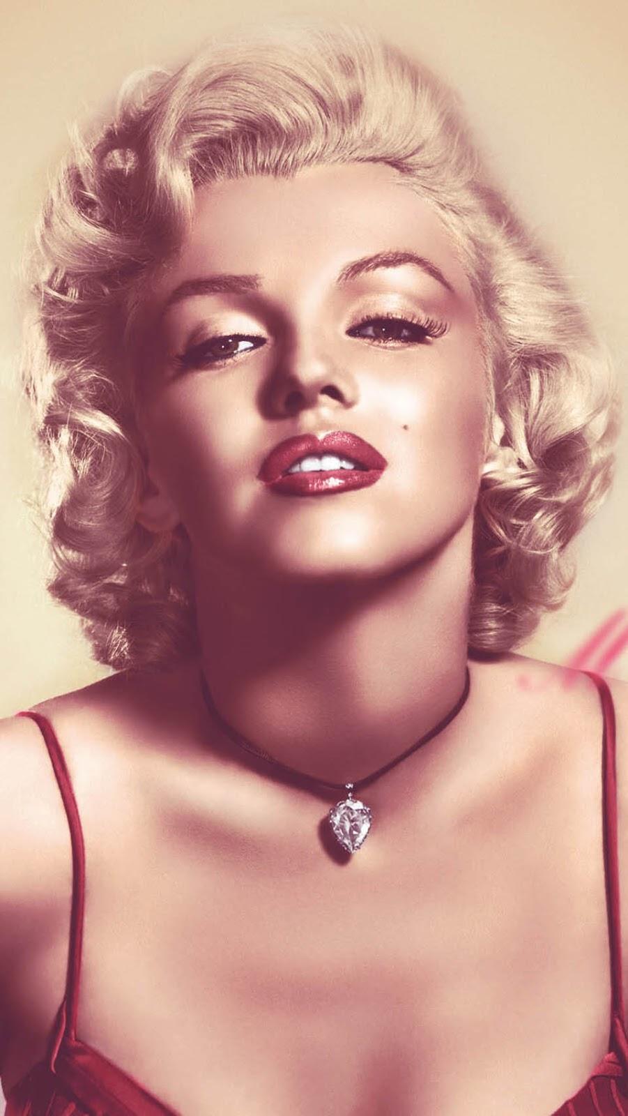 Beauty By Jessy Marilyn Monroe Iphone Wallpapers