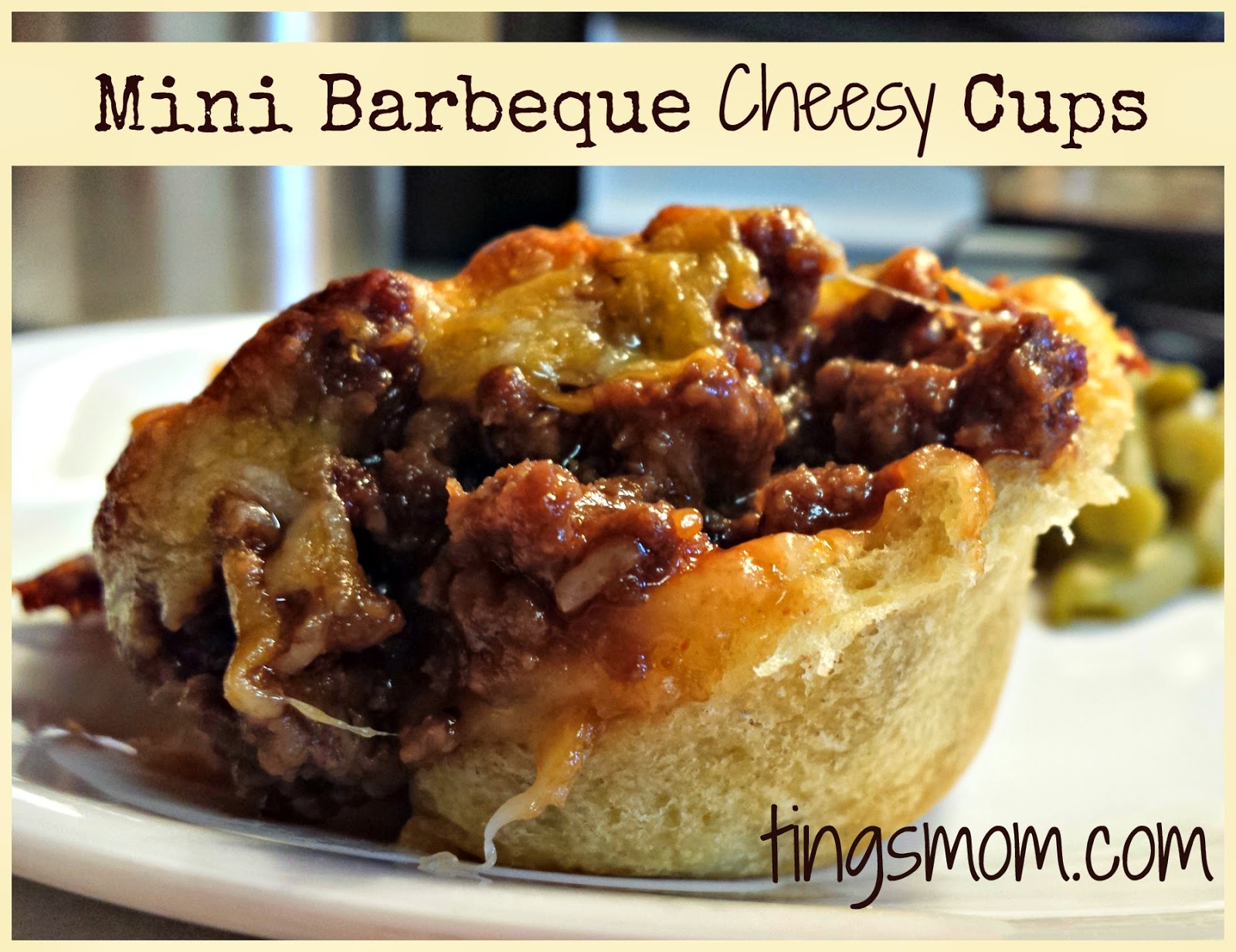 Mini BBQ Cheesy Cups | #meals #kidfriendly