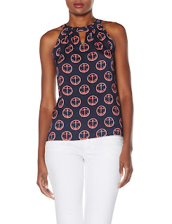 The Limited anchor print halter