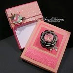 FLAP TOP CARD BOX with COVER