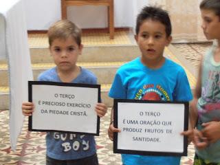 Missa em ação de graças pelos 6 anos do Terço dos Homens de Almino Afonso - RN