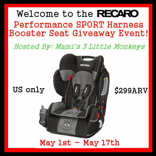 Sport Harness Booster Seat Giveaway