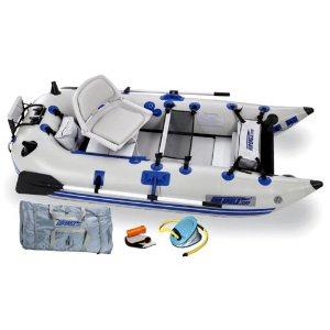 pontoon boat weigh