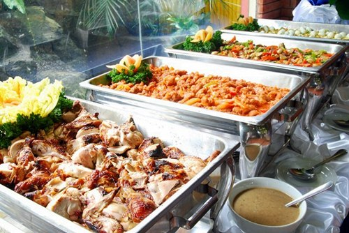 MENU BUFFET CATERING