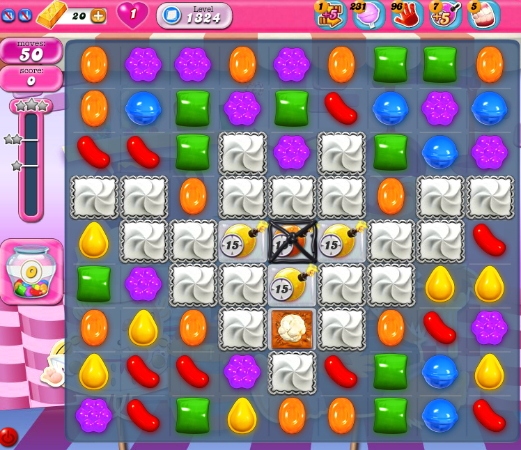 Candy Crush Saga 1324