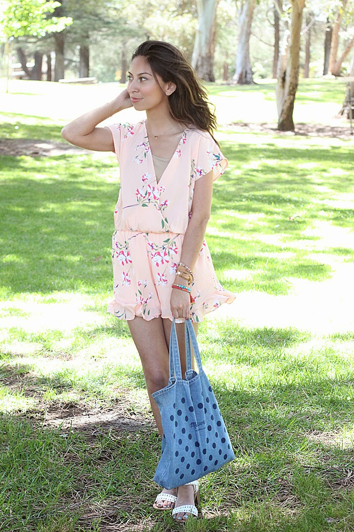 styling floral rompers
