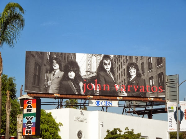 John Varvatos Kiss fashion billboard
