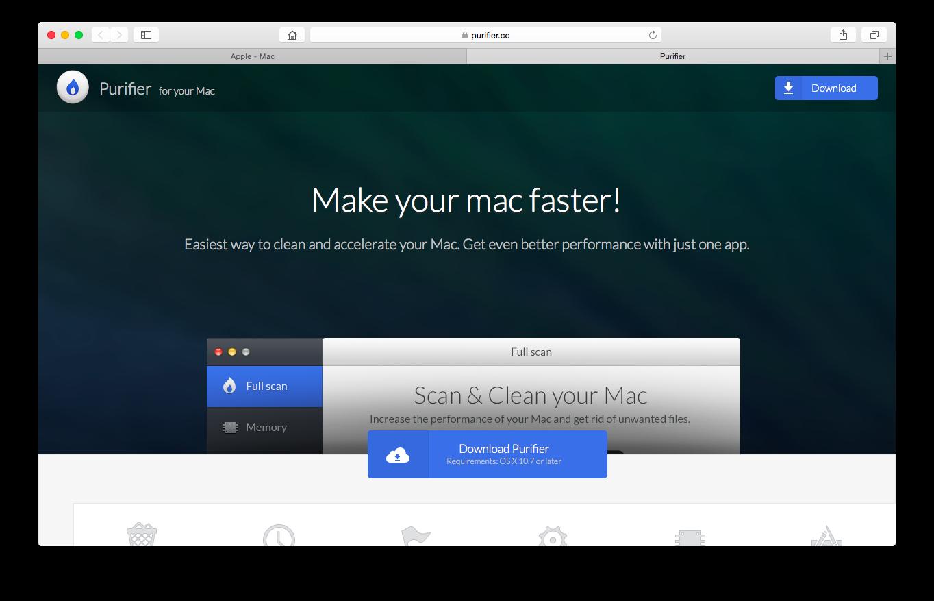 在 Mac 上清除廣告軟件