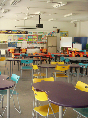 Cabinet Space Flexible Learning Environments