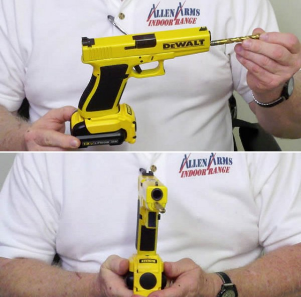 Glock Pistol Cordless Drill