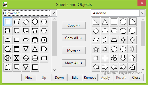 predefined-shapes-objects
