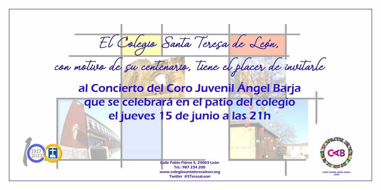 Coro Angel Barja. Centenario Colegio Santa Teresa de León.