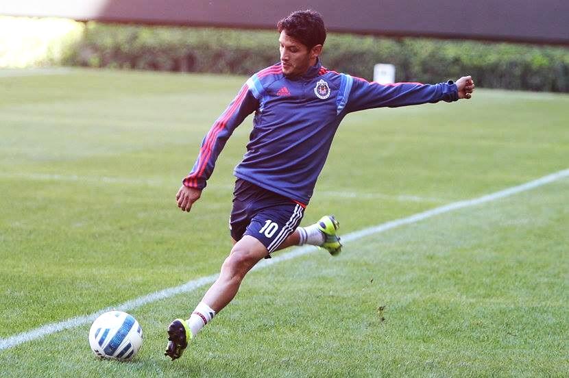 Ángel Reyna, recuperado de su lesión.