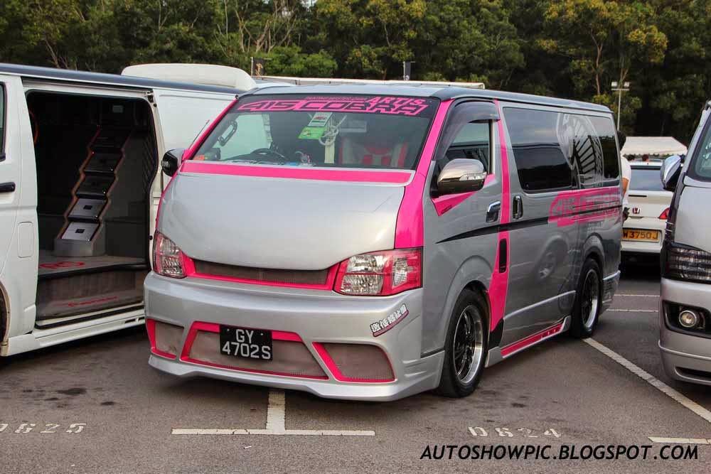 Autoshow Pic Modified Toyota Hiace Singapore