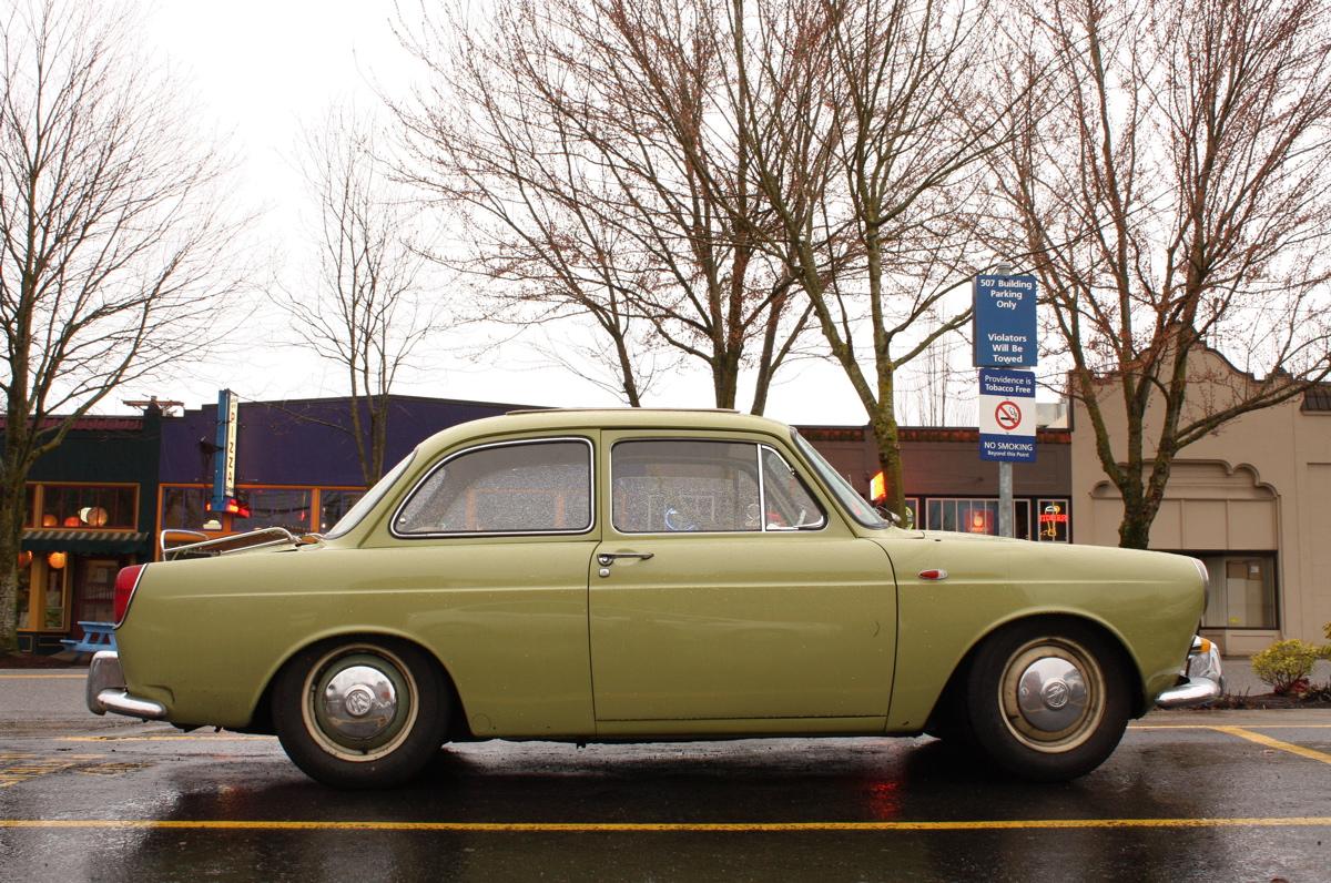 1965 Volkswagen Notchback.