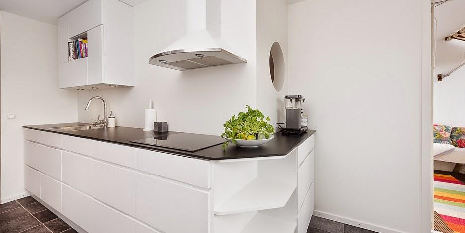 Boho deco chic como decorar el office de una cocina - Como decorar una pared blanca ...