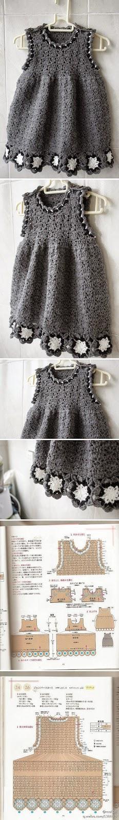Patrones de vestido de niña