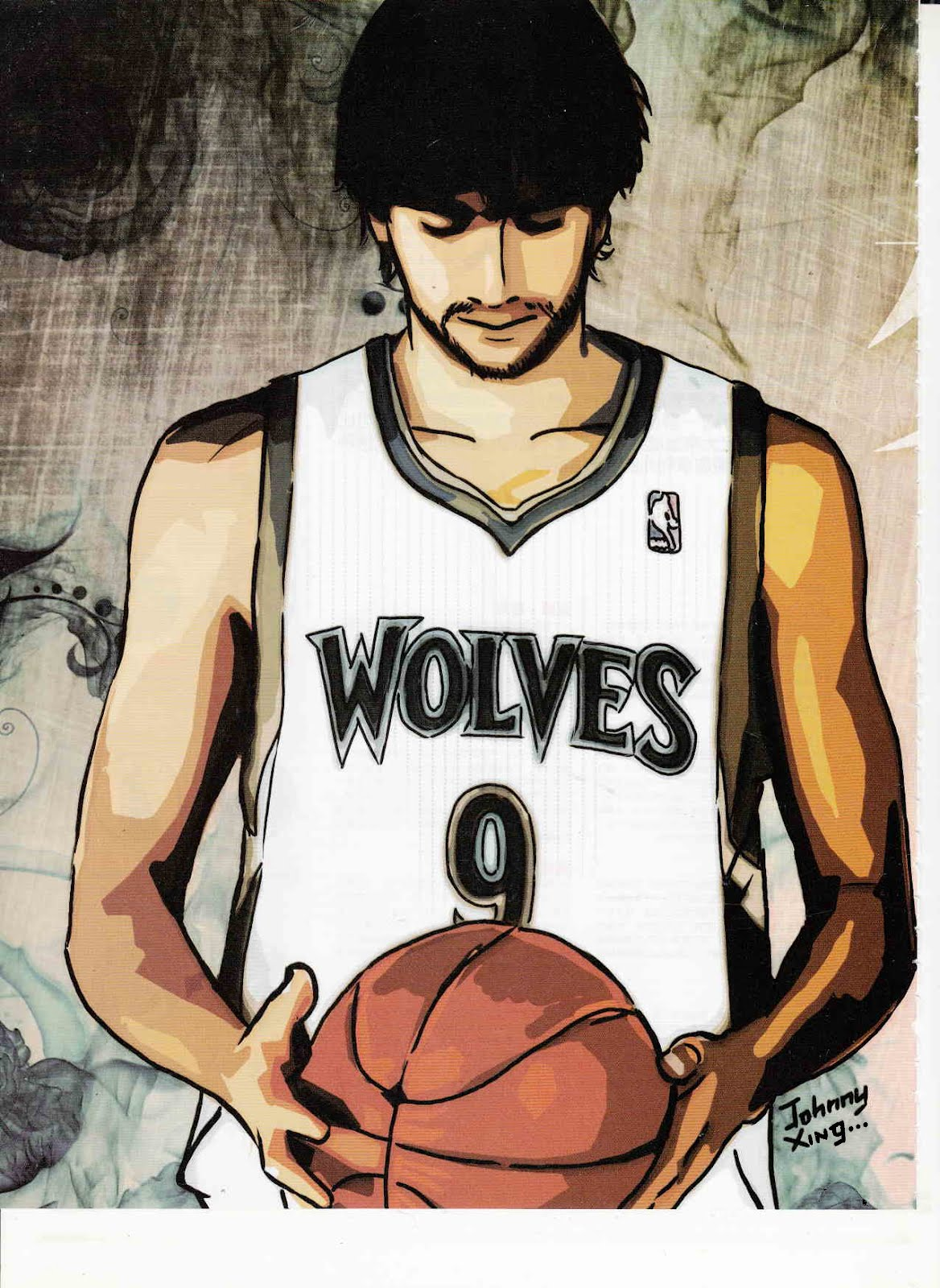 RICKY RUBIO, MINNESOTA TIMBERWOLVES POINT GUARD