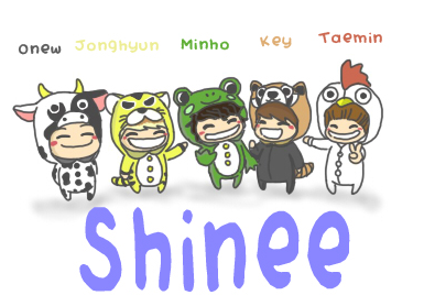 SHINee Animal Form
