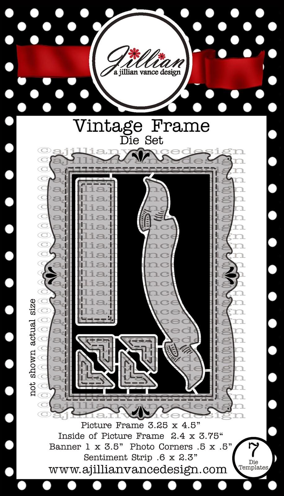 Vintage Frame Die Set