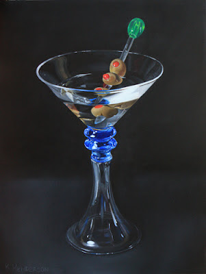 k henderson fine art illusion of reality martini