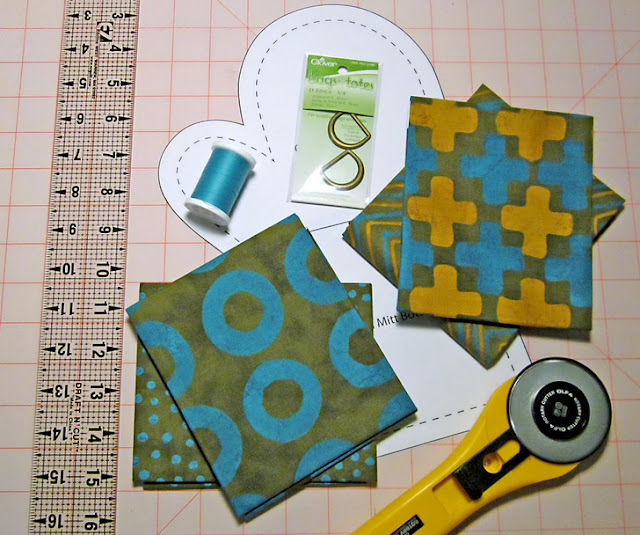 sewing Oven Mitts
