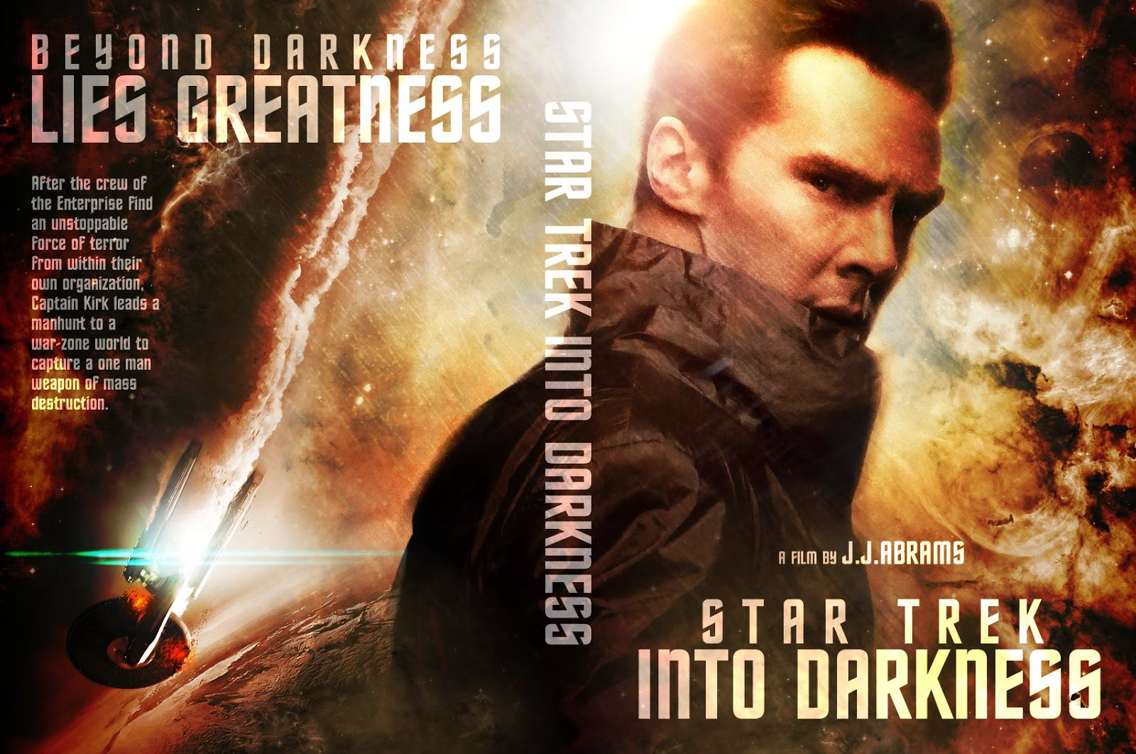 Capa DVD Star Trek Into Darkness