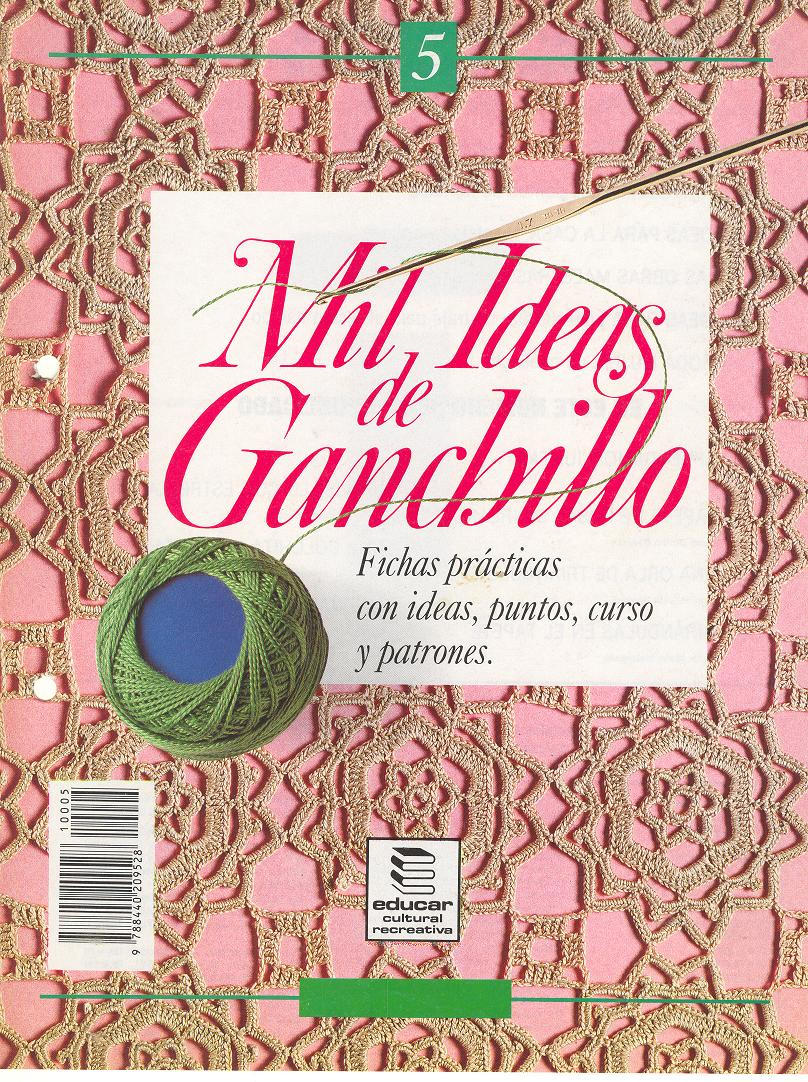 "lanes asgaya: REVISTA ""MIL IDEAS DE GANCHILLO 5"""