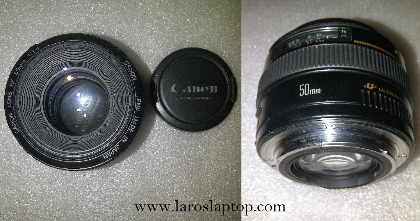 Lensa Canon EF 50mm 1:1.4